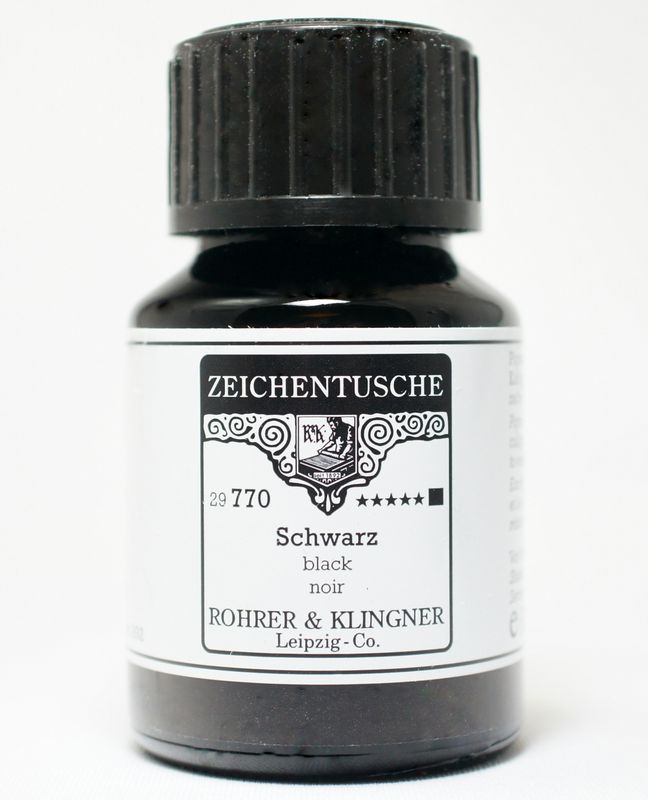 R&K つけペン専用 アクリル顔料耐水インク シリーズ