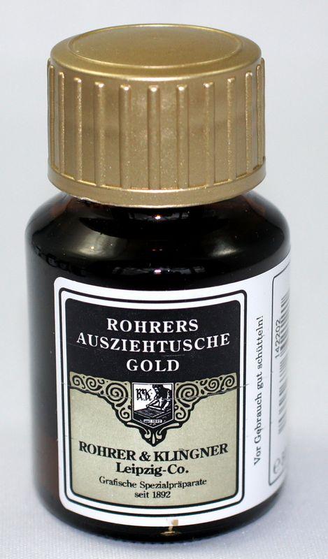 R&K シェラックインク Gold ゴールド つけペン用