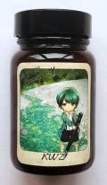 オリジナル筆記インク 北海道編 第2弾 『IG 幌別川 Green Taff』 (没食子インク) 【日本郵便レターパックプラス配送可】