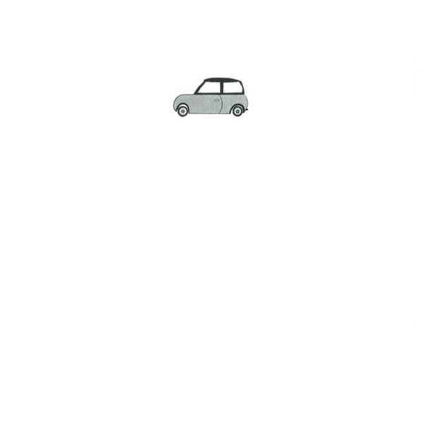 メッセージカード シルバーカー A6 シングル