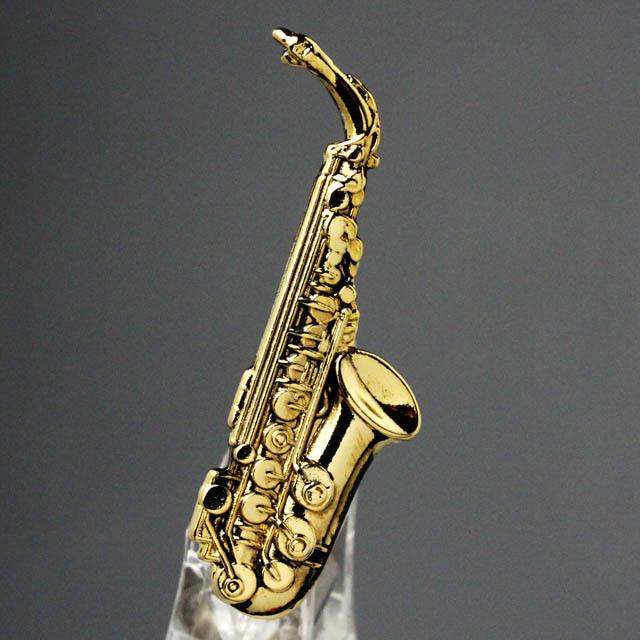 アルトサックス alto sax ブローチ 楽器グッズ 音楽雑貨