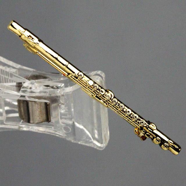 フルート flute ブローチ 楽器グッズ 音楽雑貨