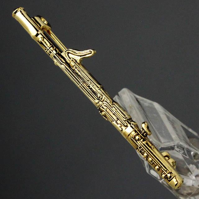 ファゴット Bassoon ブローチ 楽器グッズ 音楽雑貨