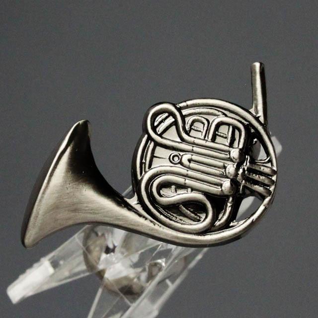 ホルン Horn ブローチ 楽器グッズ 音楽雑貨