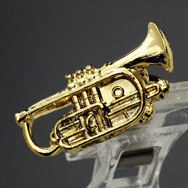 コルネット Cornet ブローチ 楽器グッズ 音楽雑貨