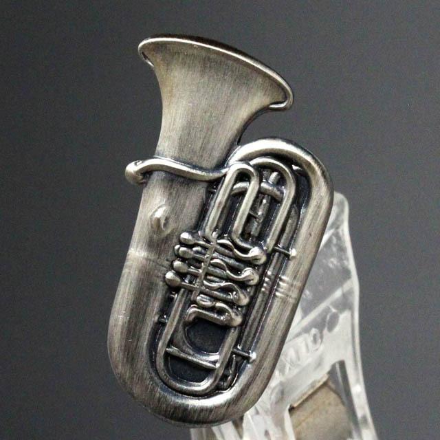 チューバ Tuba ブローチ 楽器グッズ 音楽雑貨