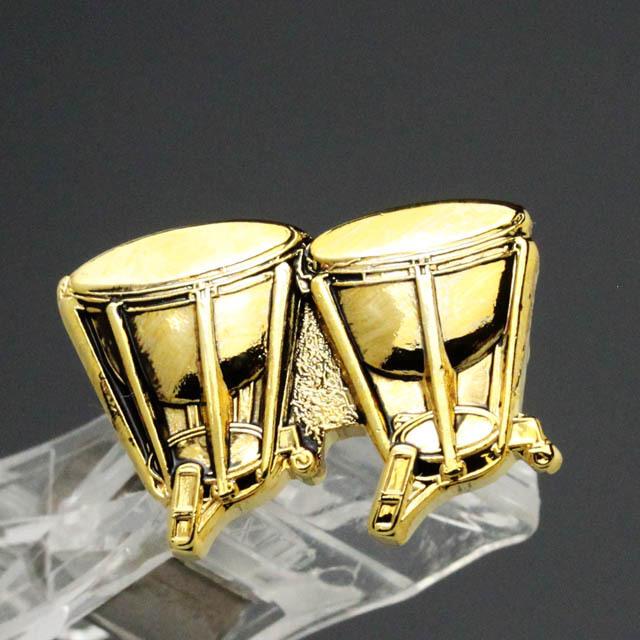 ティンパニ Timpani ブローチ 楽器グッズ 音楽雑貨