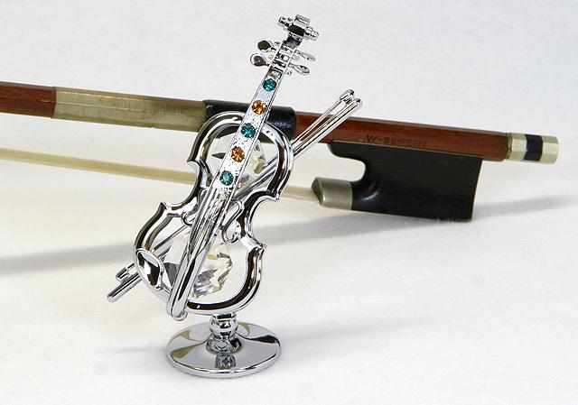 CRYSTOCRAFT ヴァイオリン Swarovski クリスタル