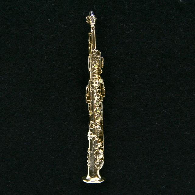 Soprano Saxophone ソプラノサックス ピン