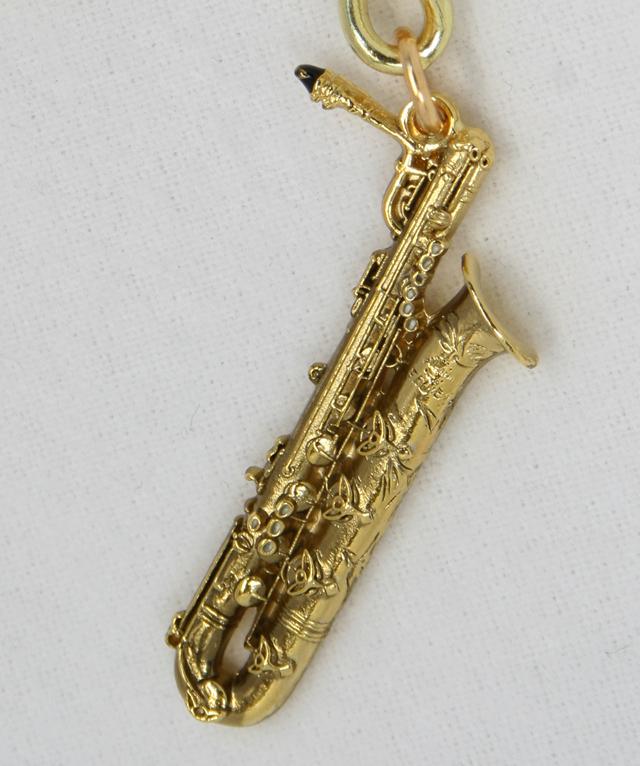 Bariton Saxophone バリトンサックス キーホルダー