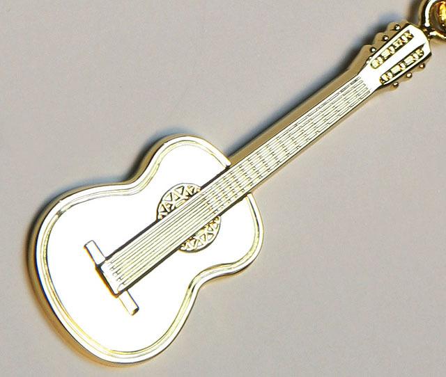 クラシックギター キーホルダー 音楽雑貨 音楽アクセサリー