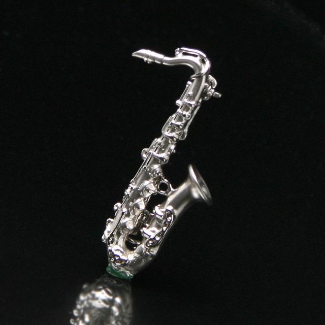 マット&ブライトシリーズ テナーサックス ブローチ 音楽アクセサリー 楽器アクセサリー 音楽雑貨