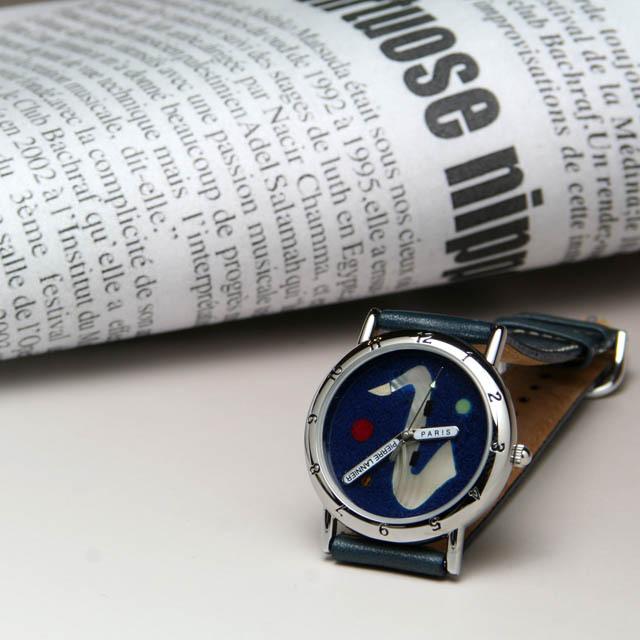 Pierre Lannier 限定ウォッチ テナーサックス 音楽雑貨 音楽グッズ 腕時計 音楽ギフト