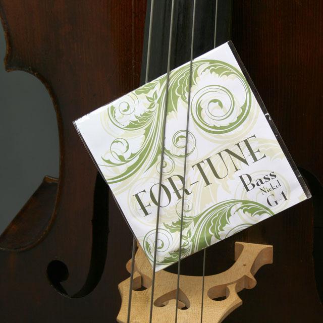 FOR-TUNE コントラバス弦 G線 D線 A線 E線 音楽雑貨 音楽グッズ 弦楽器