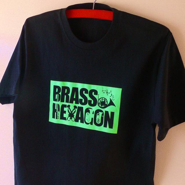 BRASS HEXAGON オリジナルグッズ Tシャツ ブラスヘキサゴン 音楽雑貨 音楽グッズ