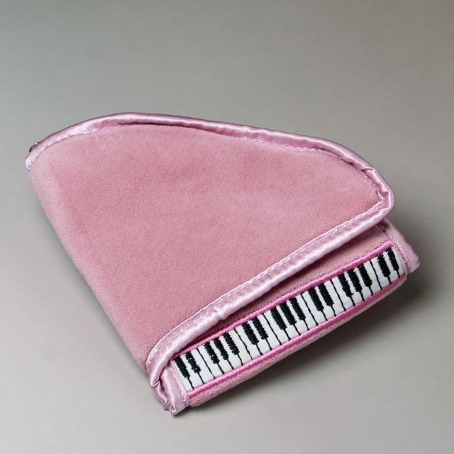 ジュエリーポーチ アクセサリーケース グランドピアノ 鍵盤 音楽雑貨 音楽グッズ 音楽ギフト