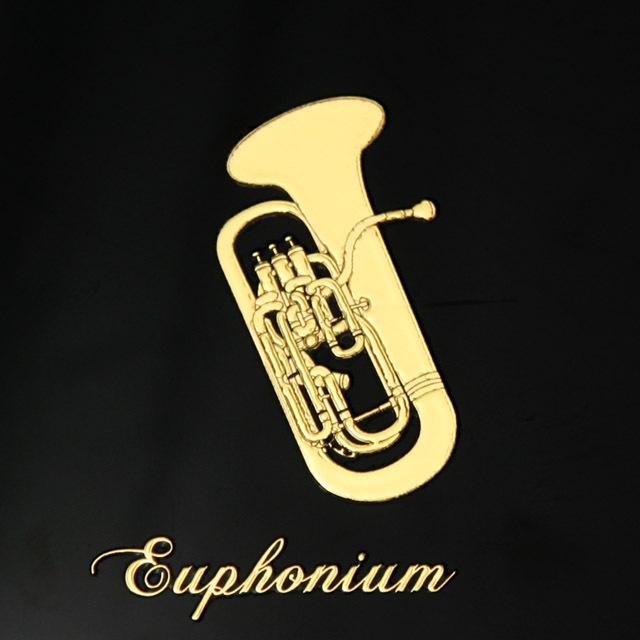 蒔絵風 携帯ステッカー ユーフォニアム euphonium 音楽雑貨 音楽グッズ 音楽ギフト