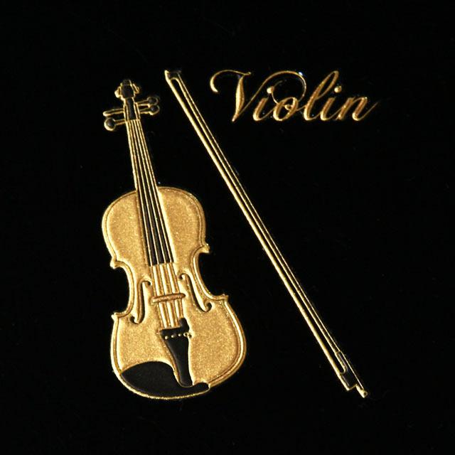 蒔絵風 携帯ステッカー ヴァイオリン violin 音楽雑貨 音楽グッズ 音楽ギフト