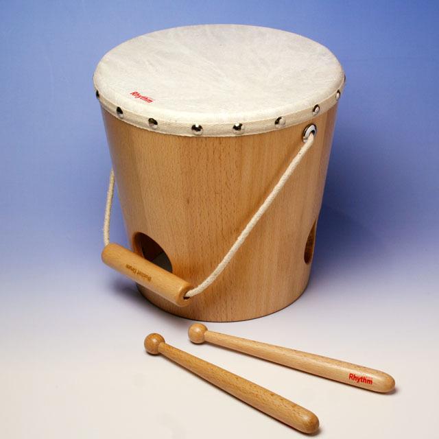 Rhythm poco バケットドラム Bucket Drum 音楽雑貨 音楽ギフト 知育楽器