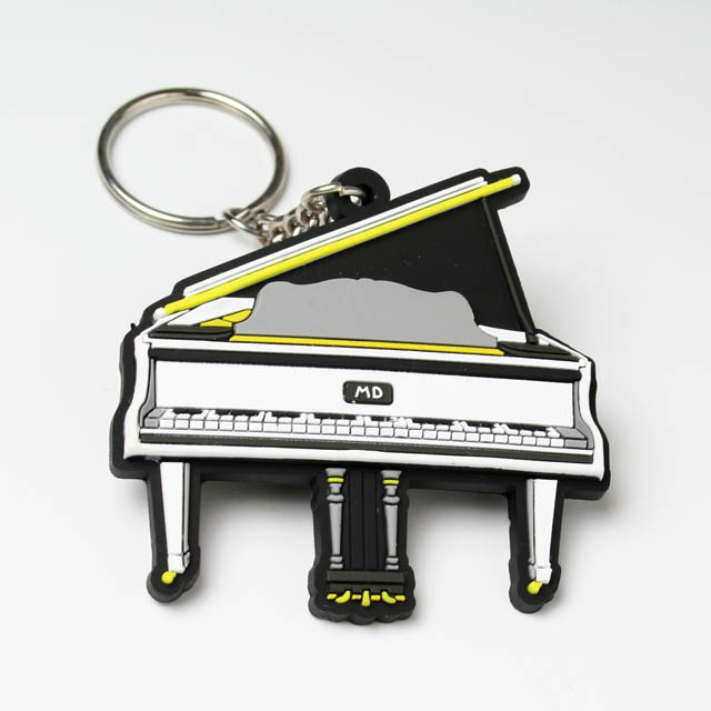 キーホルダー キーチェーン グランドピアノ 音楽雑貨 音楽グッズ 音楽小物