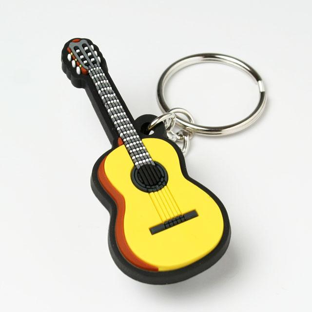 キーホルダー キーチェーン クラシックギター 音楽雑貨 音楽グッズ 音楽小物