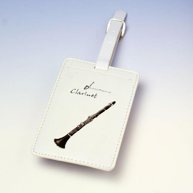 クラリネット clarinet ネームタグ 名札 音楽雑貨 音楽グッズ 音楽小物