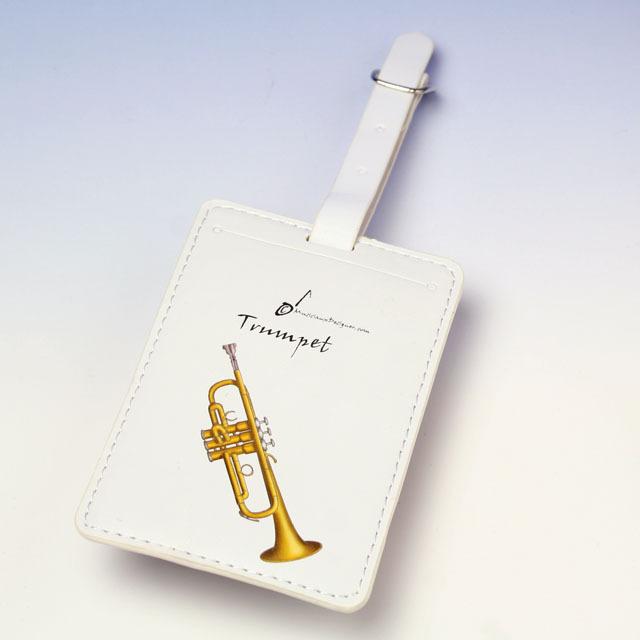 トランペット trumpet ネームタグ 名札 音楽雑貨 音楽グッズ 音楽小物