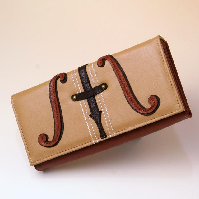 弦楽器 ヴァイオリン ヴィオラ チェロ コントラバス パッチワーク カード入 札入 音楽雑貨 音楽グッズ 音楽小物