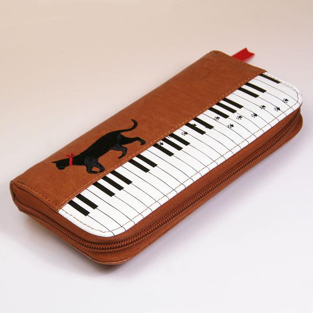 ピアノ 鍵盤 長財布 音楽雑貨 音楽グッズ