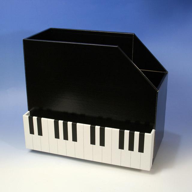 ピアノ おけいこ 収納ボックス 音楽雑貨 レッスン