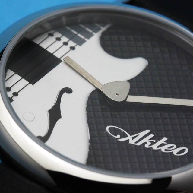 AKTEO ウォッチ エレキギター 音楽雑貨 音楽ギフト