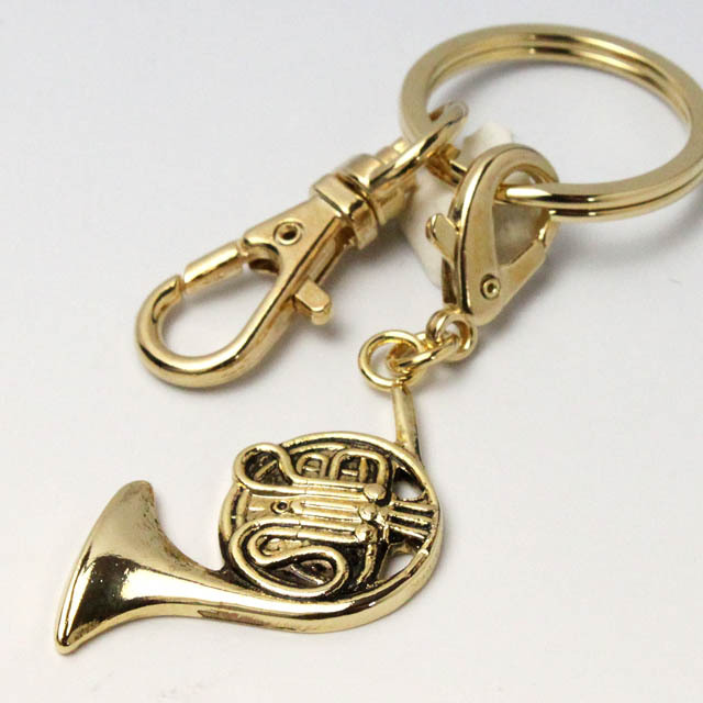 ホルン French Horn キーホルダー 音楽グッズ 音楽雑貨