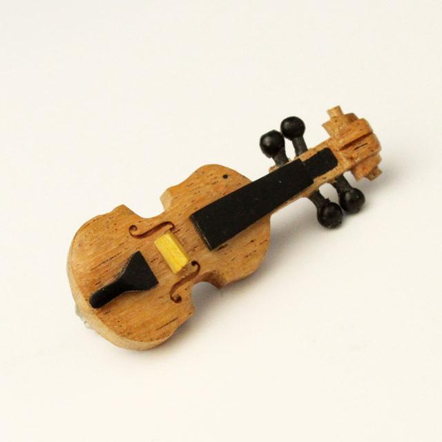 Wooden ピン 弦楽器 ヴァイオリン 音楽雑貨