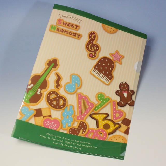 Sweet Harmony 楽器 クリアファイル 音楽雑貨