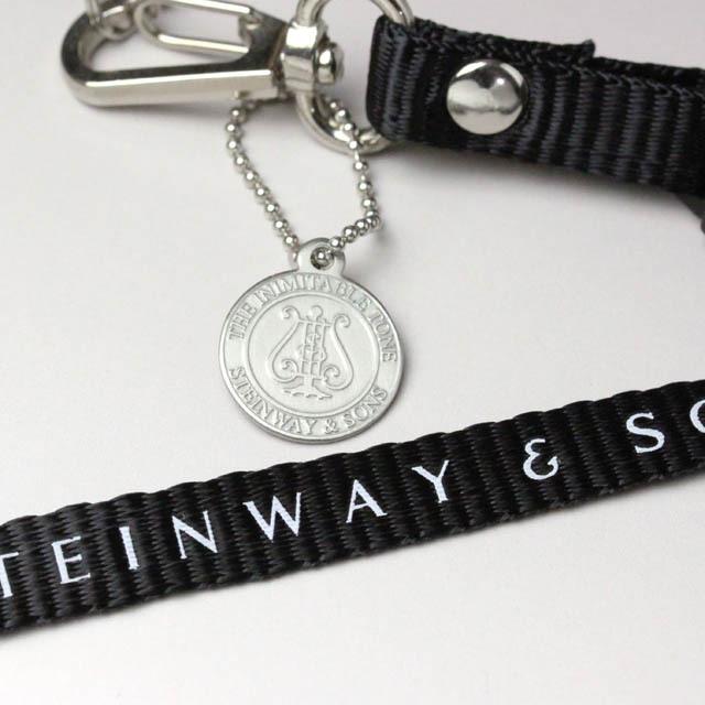 Steinway&Sons ピアノ ネックストラップ 音楽グッズ