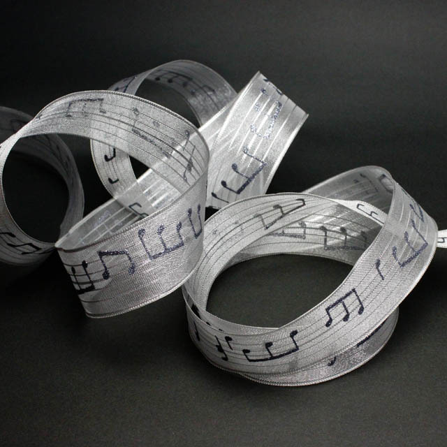 楽譜リボン wired ribbon 音楽雑貨 音楽グッズ