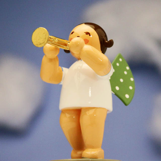 ロータリートランペット Wendt & Kuehn 天使のオーケストラ 音楽雑貨 音楽グッズ 音楽ギフト