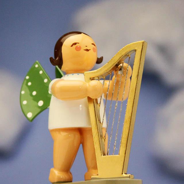 ハープ Wendt & Kuehn 天使のオーケストラ 音楽雑貨 音楽グッズ 音楽ギフト