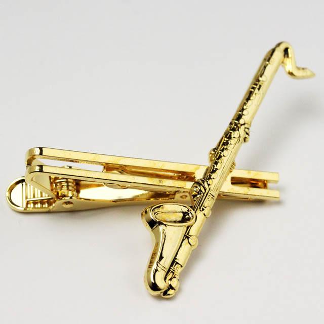 バスクラリネット Bass Clarinet タイピン タイバー 楽器グッズ 音楽雑貨