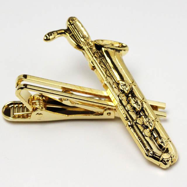 バリトンサックス Baritone Sax タイピン タイバー 楽器グッズ 音楽雑貨
