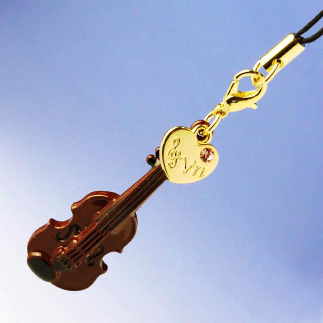 なぜかヴァイオリン 吹奏楽 チャーム 音楽雑貨 音楽グッズ
