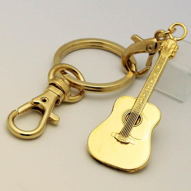 フォークギター キーホルダー 音楽グッズ 音楽雑貨
