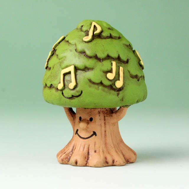 音符の森 オーナメント 音楽の樹 音楽雑貨