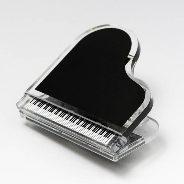 マグネット付 ピアノクリップ 音楽雑貨 音楽グッズ