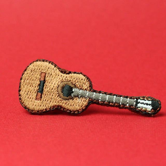ワッペン 刺繍ステッカー クラシックギター 音楽グッズ 音楽雑貨