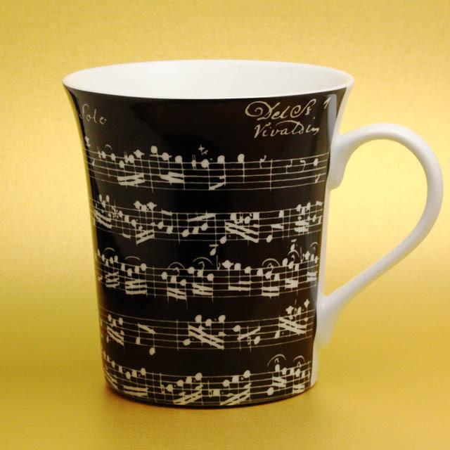 ヴィヴァルディ オーボエのためのソナタ マグカップ 音楽雑貨 音楽グッズ