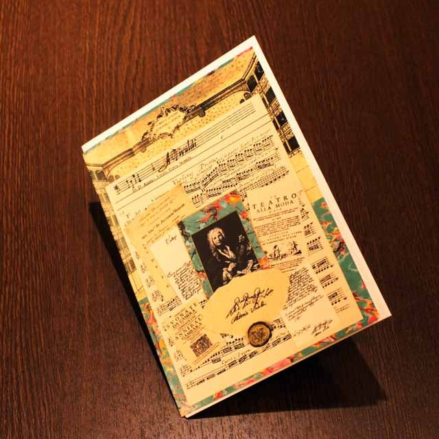 多目的カード ヴィヴァルディ Vivaldi 音楽グッズ