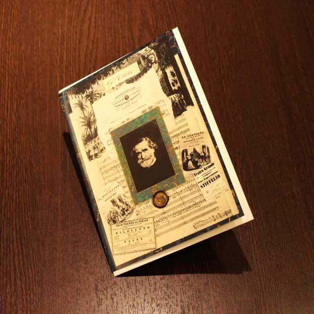 多目的カード ヴェルディ Verdi 音楽グッズ