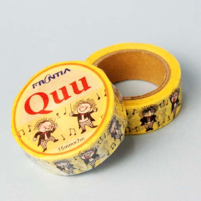 マスキングテープ Quu 指揮者 音楽雑貨