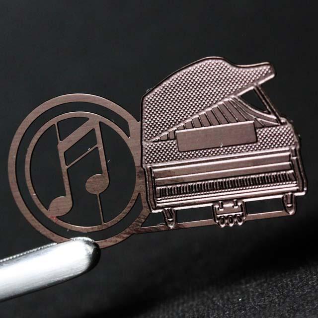 譜めくりマーカー 楽譜タブ 音楽雑貨 グランドピアノ